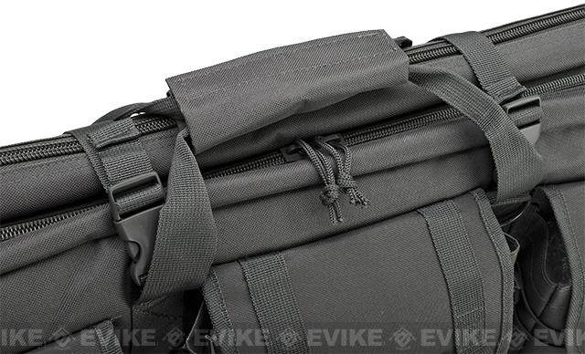 Combat Featured 42 Ultimate Dual Weapon Case Rifle Bag (Urban / Gray)