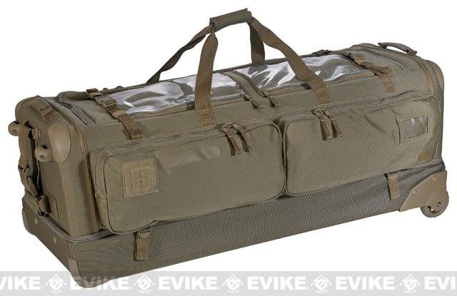 5.11 Tactical CAMS 40 Outbound Rolling Rifle Bag / Suitcase (Color: Sandstone)