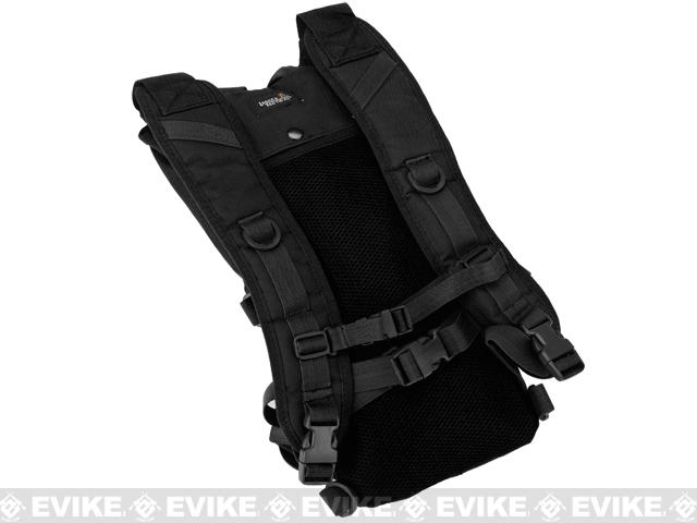 Lancer Tactical Light Weight Hydration Carrier w/ Molle - Black
