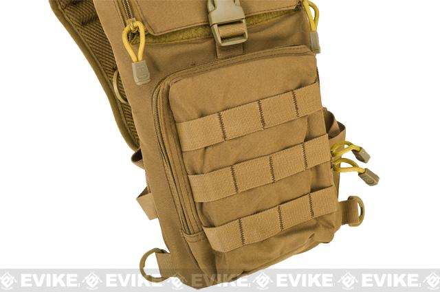 Lancer Tactical Light Weight Hydration Carrier w/ Molle (Color: Tan)
