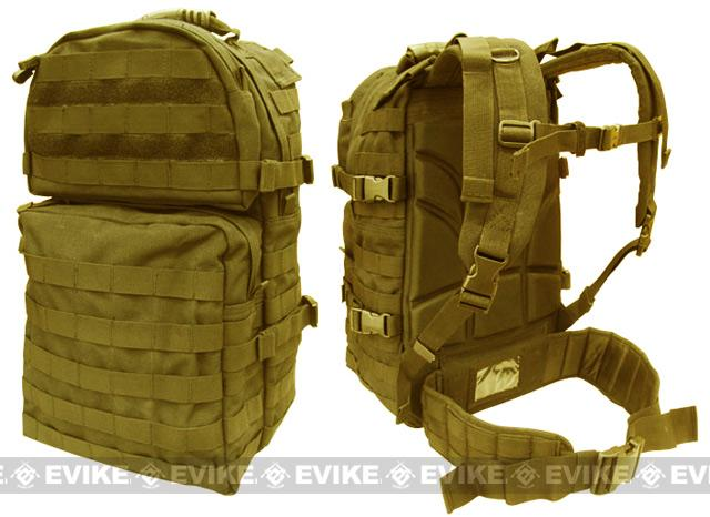 Condor Tactical Medium Modular Assault Backpack II - Tan