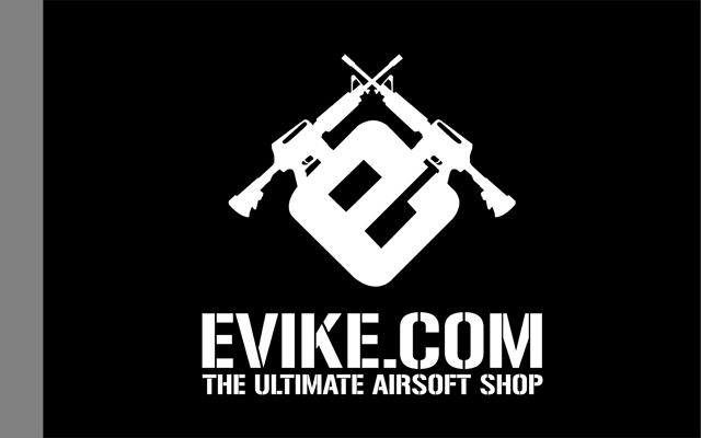Evike.com Airsoft Nation Flag Banner - 120cm x 80cm (Flag)