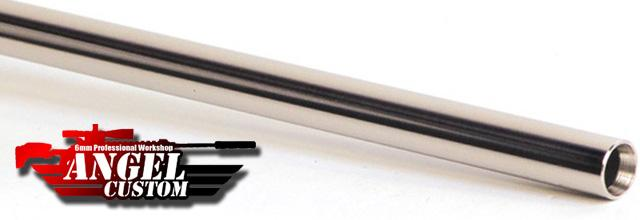 Angel Custom G2 SUS304 Stainless Steel Precision 6.01mm Airsoft AEG Tightbore Inner Barrel (Length: 395mm)