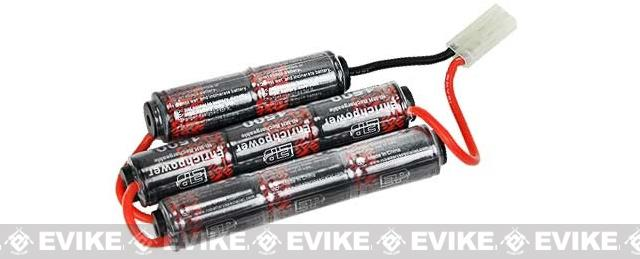 Matrix 9.6v 1600mAh High Performance Custom NiMH Battery - (ICS M3 Type)