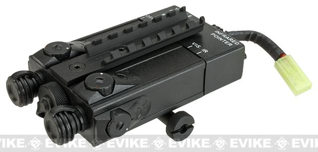CYMA DBAL-I Type PEQ-2 RIS Mount Battery Box with Integrated 9.6V Battery