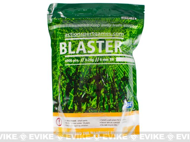 ASG BLASTER 6mm Airsoft BBs - 4000ct / 0.20g
