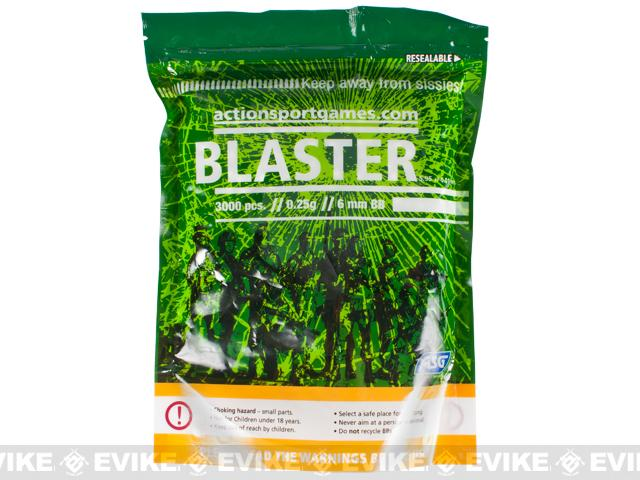 ASG BLASTER 6mm Airsoft BBs - 3000ct / 0.25g