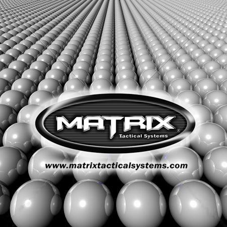 0.25g Match Grade 6mm Airsoft BB by Matrix - Black (QTY: 1 Bag / 1,000 Rounds)