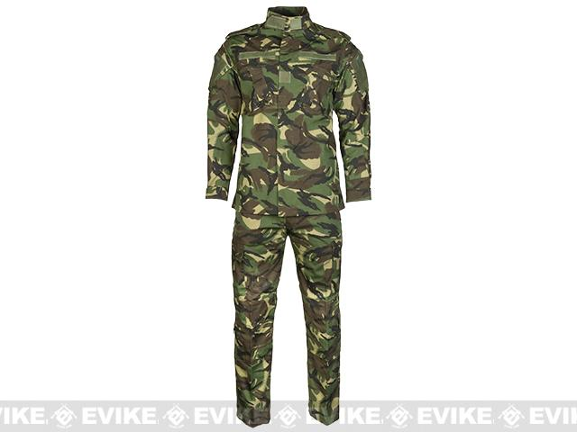 Emerson R6 BDU Field Uniform Set - Woodland DPM (Size: Small)