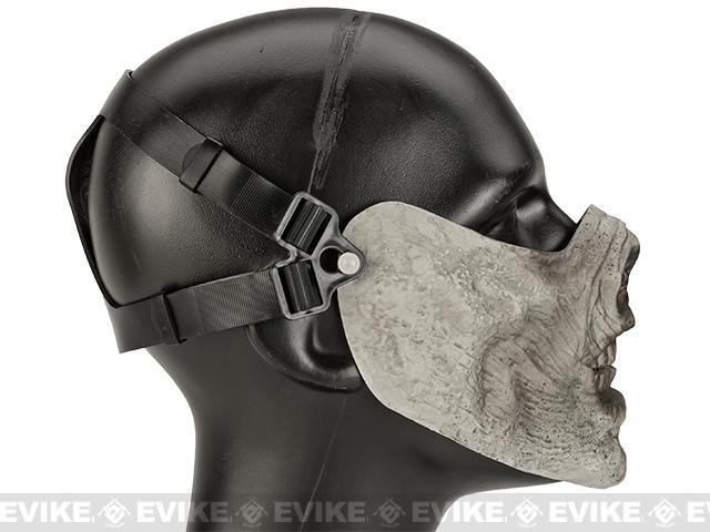 Avengers Zombie Iron Face Lower Half Mask - Rotting Flesh