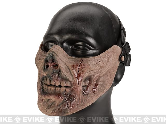 Avengers Zombie Iron Face Lower Half Mask - Flesh Wound