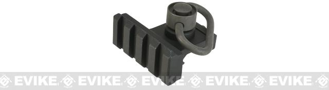 Matrix QD Sling Point with Offset Rail Segment - Black