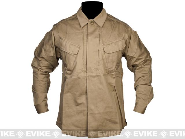 z Matrix TMC CAPS Tactical Shirt & Pants Set - Coyote Brown (Size: Large)