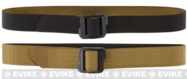 5.11 Tactical 1.5 Double Duty TDU Belt - Coyote / Black (Size: Small)