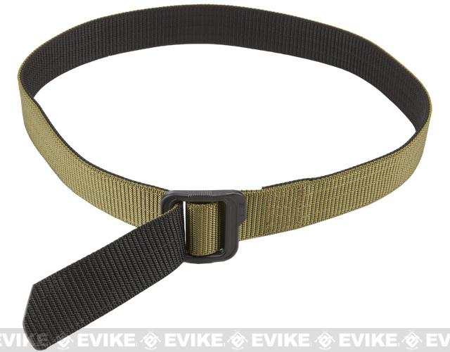 5.11 Tactical 1.5 Double Duty TDU Belt - TDU Green / Black (Size: Medium)