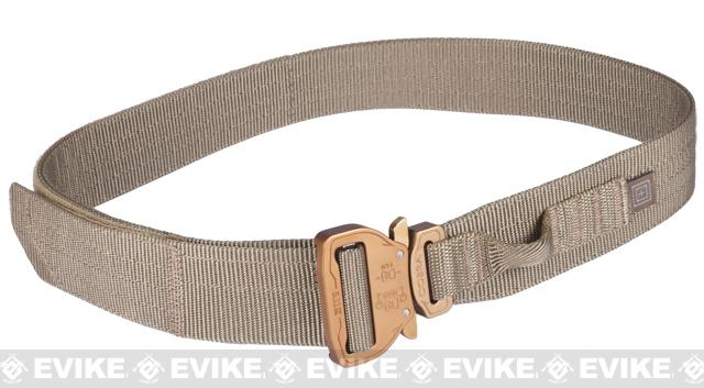 5.11 Tactical Maverick Assaulters Belt - Sandstone (Size: Medium)