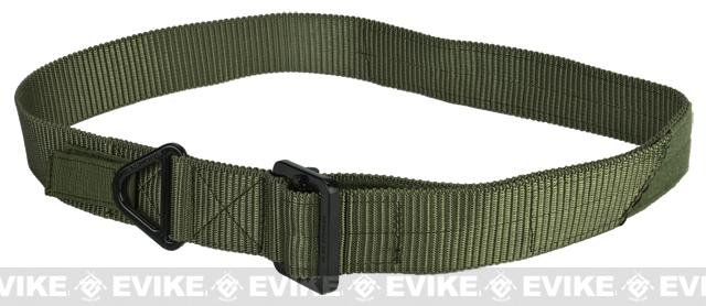 Lancer Tactical Riggers Belt - OD Green (Size: X-Large)