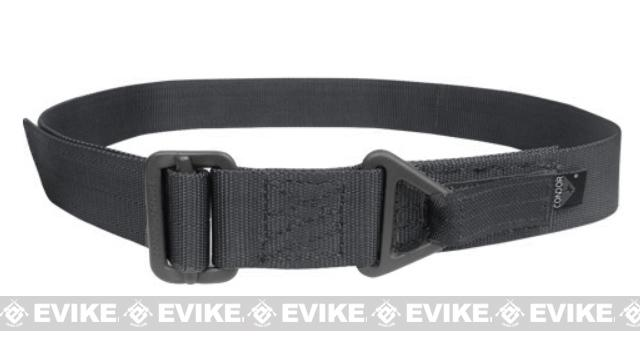 Condor Outdoor Forged Steel Tactical Riggers Belt - Black (Size: Small / Medium)