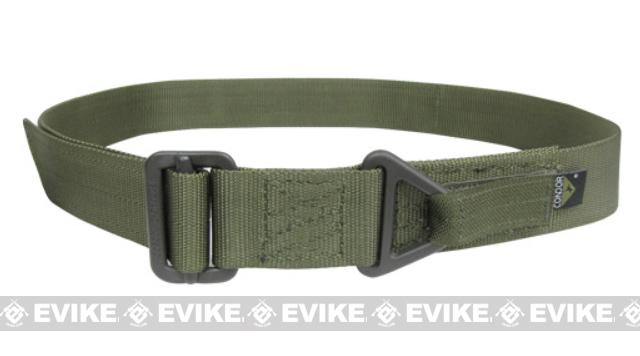 Condor Outdoor Forged Steel Tactical Riggers Belt - OD Green (Size: Small / Medium)