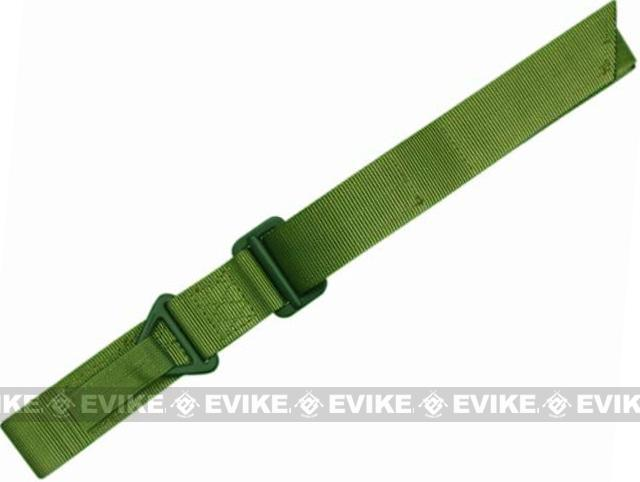 Condor Outdoor Forged Steel Tactical Riggers Belt - OD Green (Size: Medium / Large)