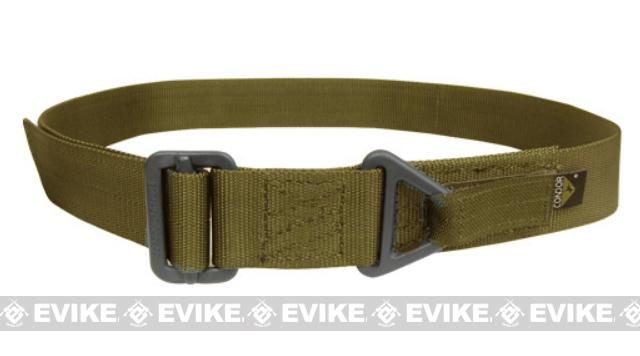Condor Outdoor Forged Steel Tactical Riggers Belt - M/L Tan
