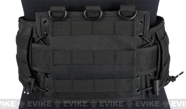 NcSTAR Battle Belt w/ Integrated Pistol Belt Set - Black