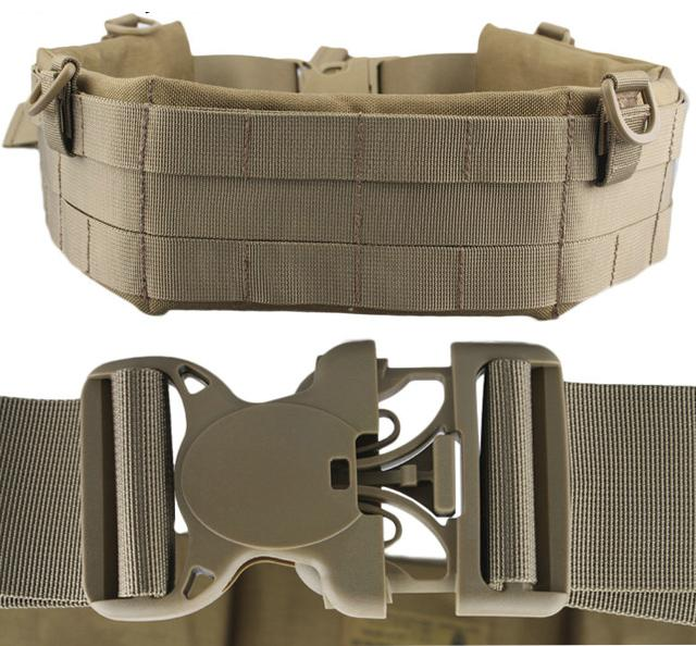 Matrix Emerson Padded Pistol Belt - Coyote Brown (Size: X-Large)