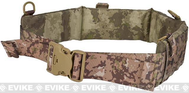Matrix Emerson Padded Pistol Belt - Arid Camo (Size: Medium)