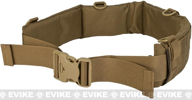 Matrix Emerson Padded Pistol Belt - Coyote Brown (Size: Large)