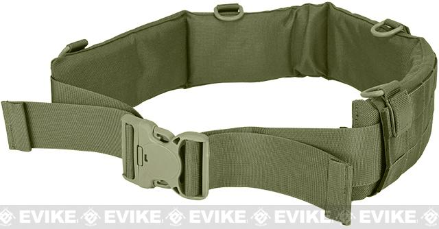 Matrix Emerson Padded Pistol Belt - Foliage Green (Size: Large)