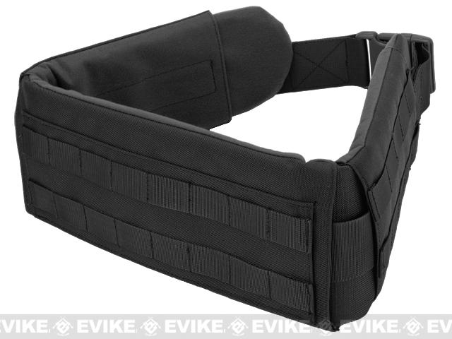 Matrix Emerson XL Padded Pistol Belt - Black