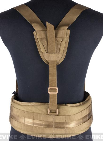 Matrix TMC MOLLE Gen II Belt with Suspenders - (Ranger Green)