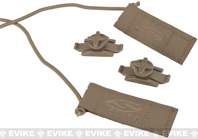 Smith Optics Boogie Bungee Cord/Hook and Loop Strap Kit - Tan 499