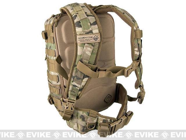 Hazard 4 Officer Front / Back Slim Organizer Backpack - Multicam