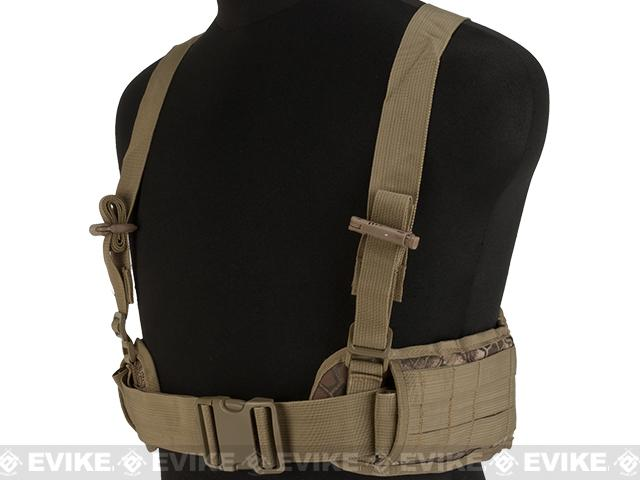 Martrix Chest Rig/Harness System with Battle Belt - Desert Serpent