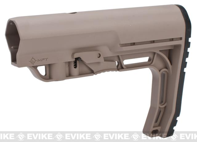 Mission First Tactical Battlelink Minimalist Stock for M4 Series AEG - Flat Dark Earth
