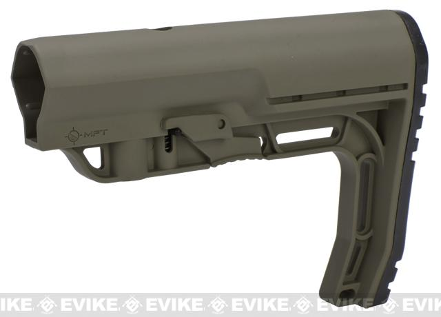 Mission First Tactical Battlelink Minimalist Stock for M4 Series AEG - Scorched Dark Earth