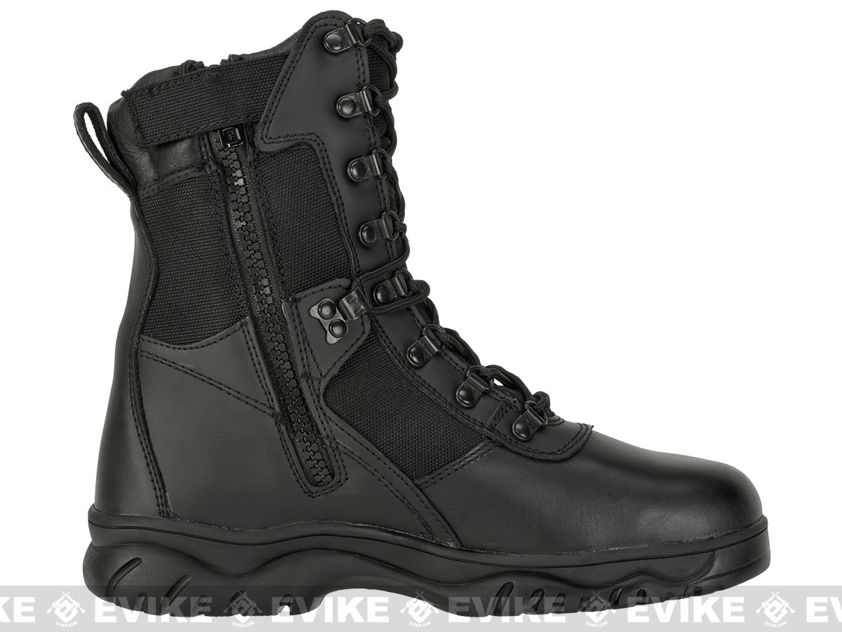 Rothco 5053 8 Forced Entry Side Zip Tactical Boots - Black (Size: 13)