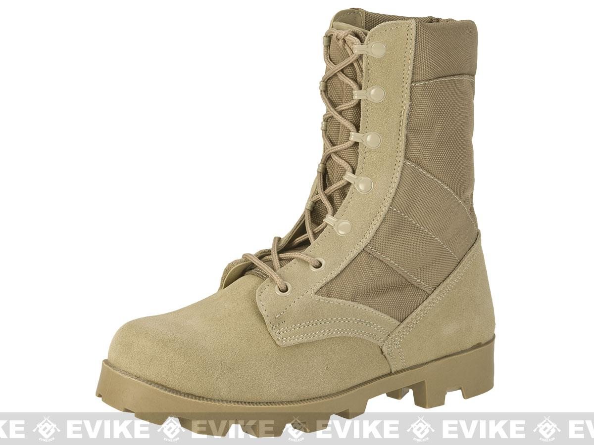 Rothco G.I. Type Desert Speedlace Jungle Boots - Tan (Size: 7)
