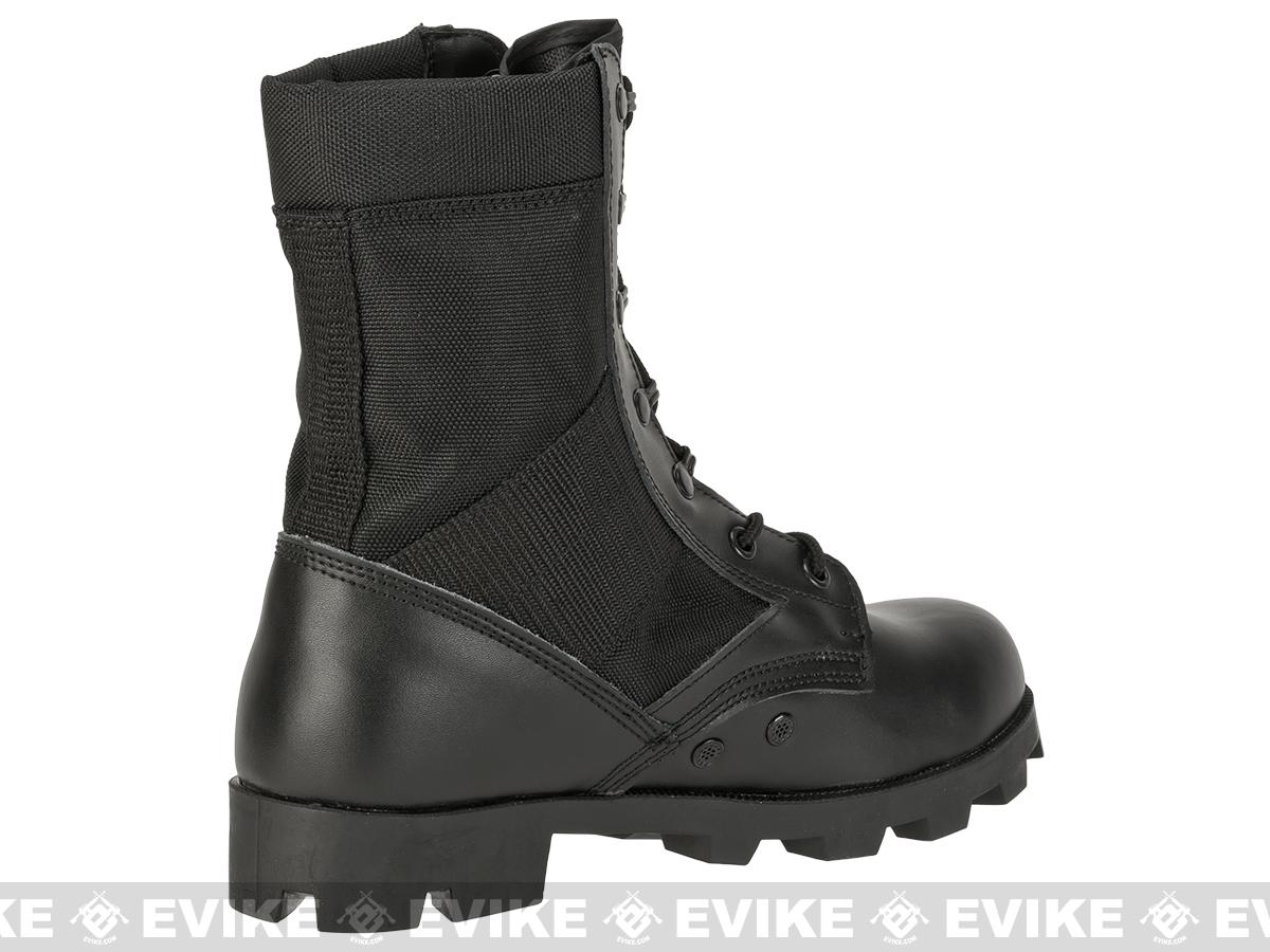 Rothco G.I. Type  Speedlace Jungle Boots - Black (Size: 9)