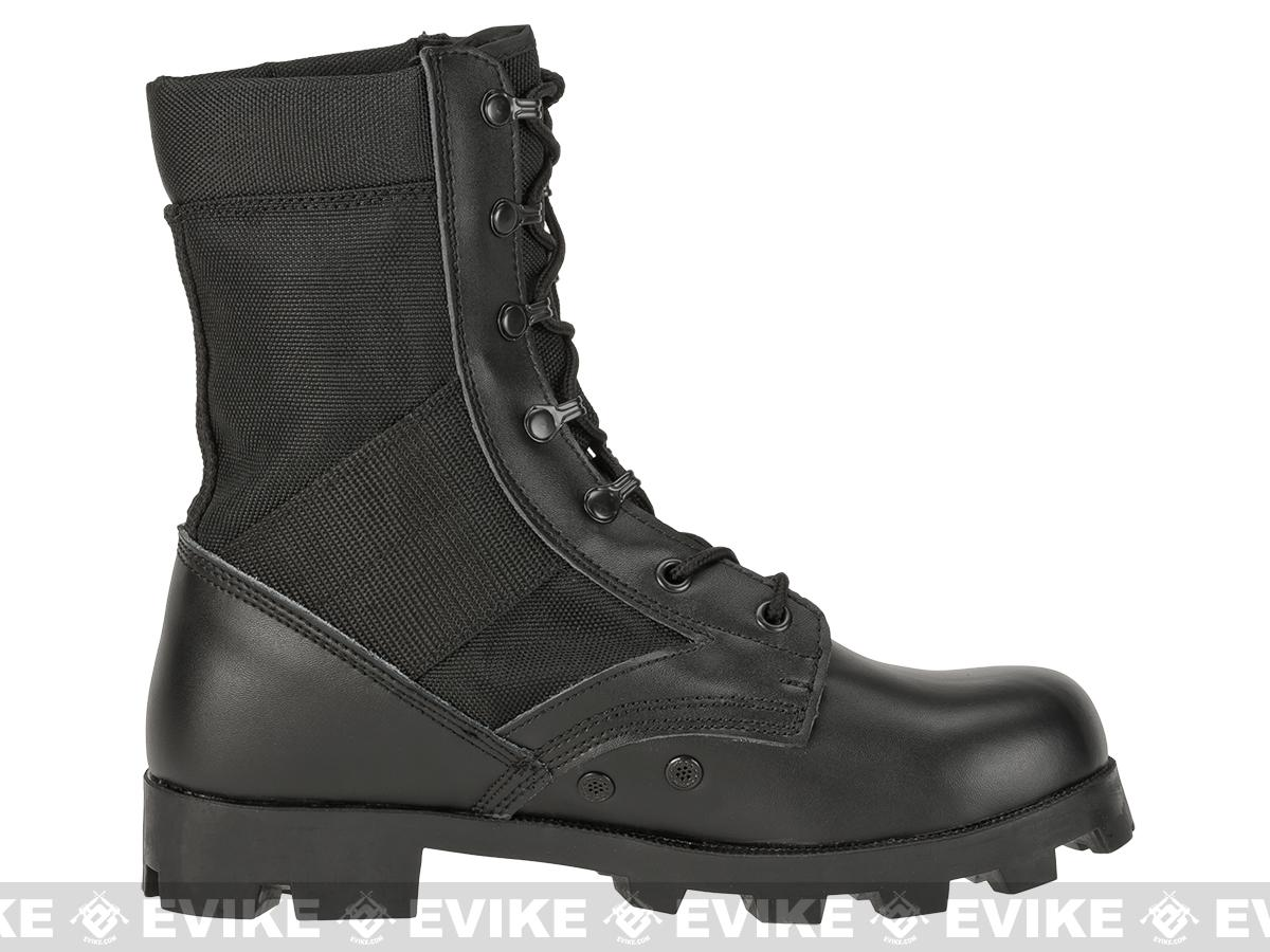 Rothco G.I. Type  Speedlace Jungle Boots - Black (Size: 11)