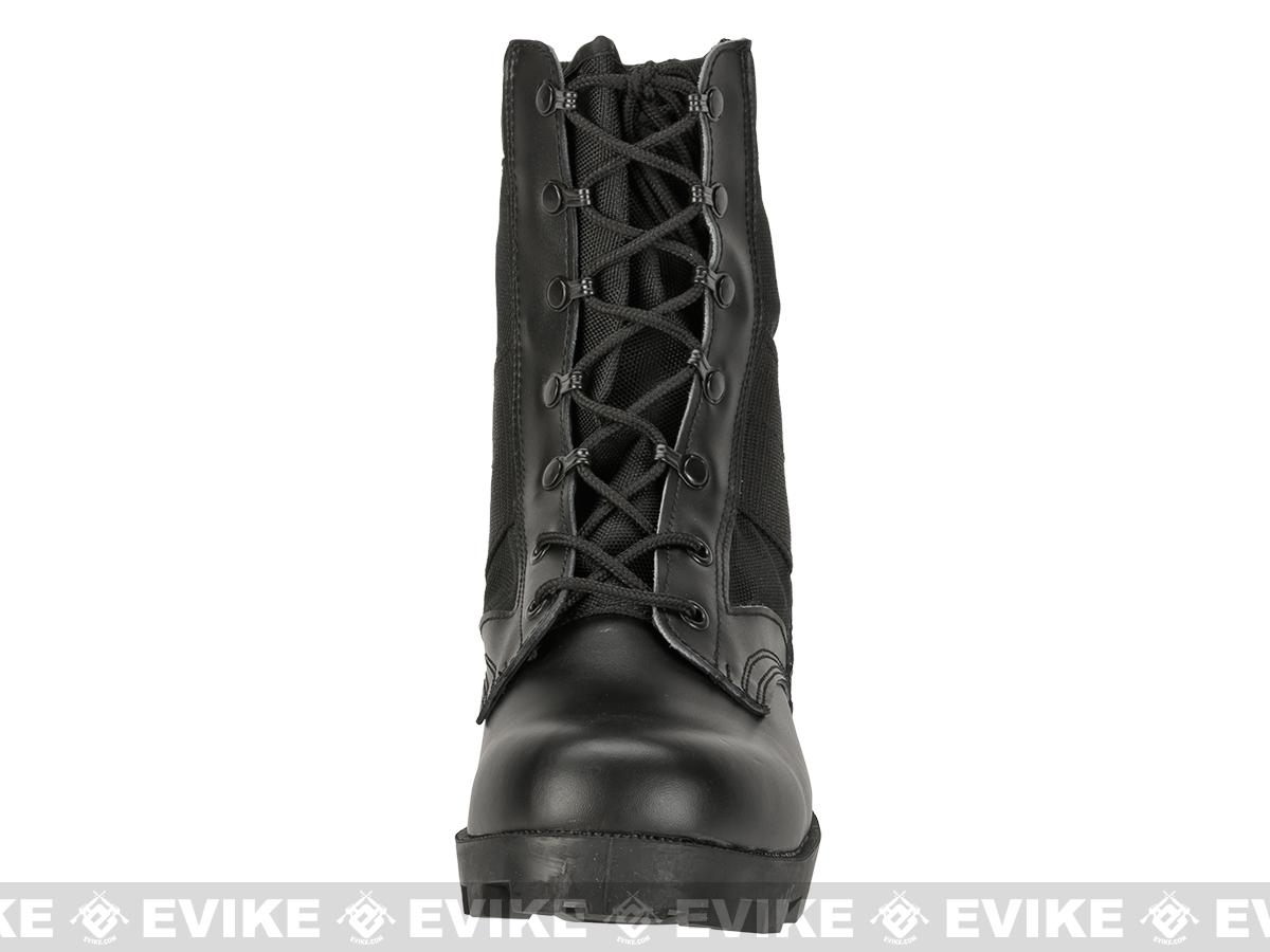 Rothco G.I. Type  Speedlace Jungle Boots - Black (Size: 10)