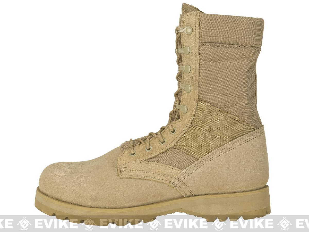 Rothco G.I. Type Desert Speedlace Jungle Boots with Sierra Sole - Tan (Size: 10)