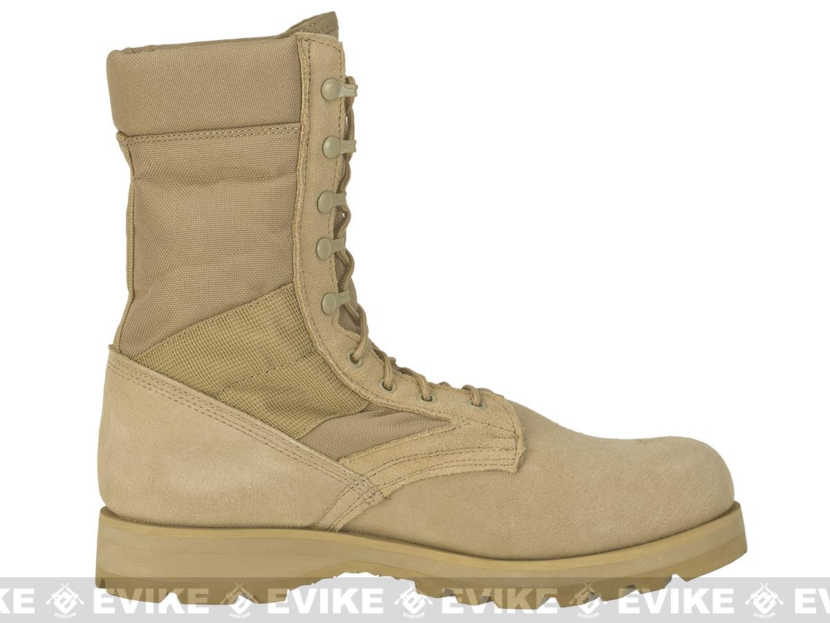 Rothco G.I. Type Desert Speedlace Jungle Boots with Sierra Sole - Tan (Size: 12)