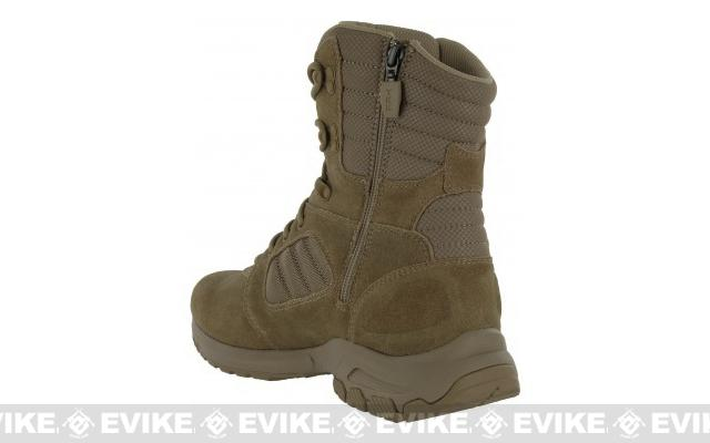 z Magnum Response III 8 Side Zip Boot - Coyote  (Size: 10.5)