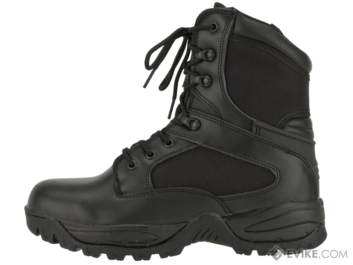 Tru-Spec Tactical Side Zipper Boots - Black (Size: 9)