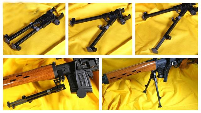 Matrix Full Metal Advanced Bipod System for Airsoft SVD Sniper Rifles