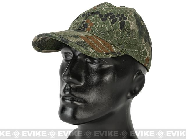 Matrix Tactical Ball Cap - Woodland Serpent