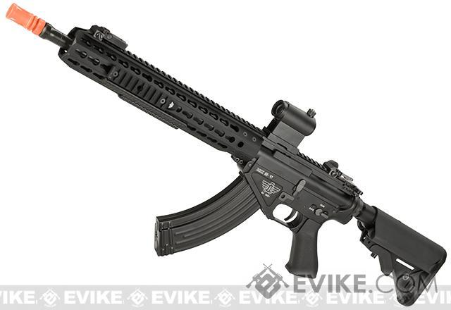 BOLT Airsoft BR-47 13 KeyMod Railed B.R.S.S. Full Metal EBB Airsoft AEG Rifle - Black