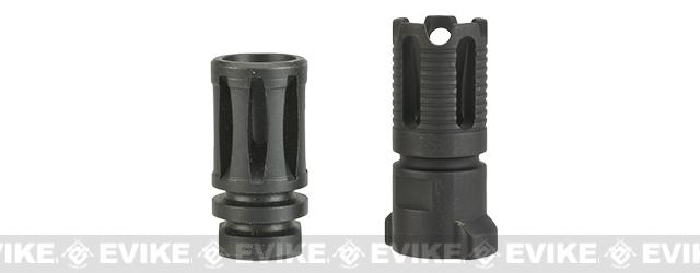 Madbull Gemtech QD Mock Suppressor Barrel Extension with Flashhider - OD Green